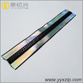 Mengunci Head Resin Reflective Tape Ritsleting tahan air