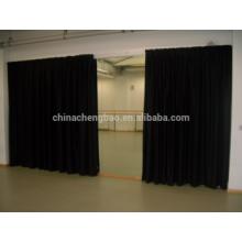 Cortinas negras de la etapa, pantalla llevada de la cortina de la etapa