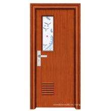 Puerta del dormitorio de la puerta de vidrio (FD-1098)