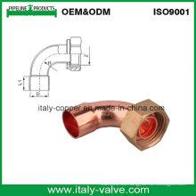 ANSI B16.22 Cobre de cobre de calidad U con tapón de latón / conector de cobre (AV8009)