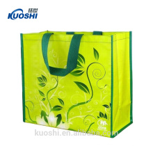 pp woven shopping bag laminated
