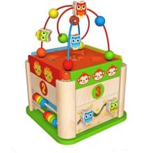 Nouveau jouet de boîte à perles rondes pour enfants et enfants