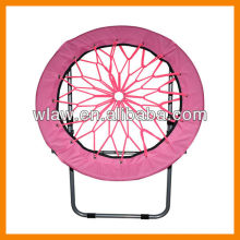 Foldable retiform round beach chair