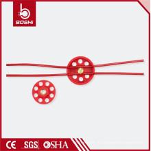 ПК с покрытием 2м колесо типа 6padlock блокировки кабеля блокировки (BD-L31)