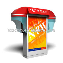 XG-50 china customized telephone booth with light box