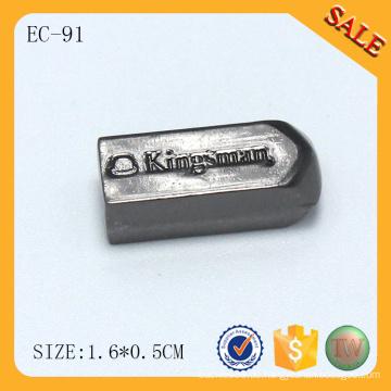 EC91 Pistole Farbe kleine benutzerdefinierte Schnur Stopper Perle