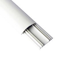 Conducto plástico flexible blanco del cable de cableado del PVC de la fuente directa de la fábrica del precio bajo
