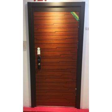 Factory Custom Size Main Entrance Wooden Door Design