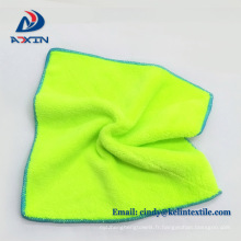 Super bon marché 80% polyester 20% polyamide microfibre corail polaire voiture polissage microfibre tissu