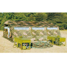 Field military shower box group