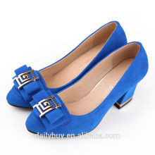 low heel new design fashion lady dress shoes