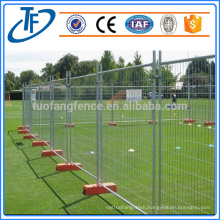 Factory direct sale high quality galvanized removable pool fence