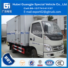 4*2 8tons ice cream refrigerator Truck Foton refrigerated cold room van truck hot sale
