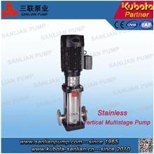 Pompe en ligne multi-étages à centrifuger verticale en acier inoxydable Cdlf Type
