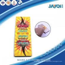 Arte diseño microfibra limpiadora con la esponja