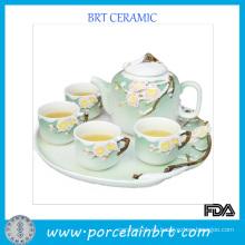 Conjunto de té de regalo de cerámica china de promoción