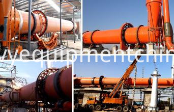 Rotary Dryer For wood chip