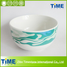 "Porcelain 6.5"" Decal Bowl"