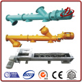 Manufacture factory steel earth screw auger conveyor hot selling