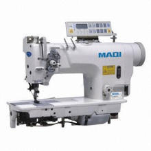 Used 842 Computer Direct Drive Double Needle Industrial Sewing Machine, Grey Market