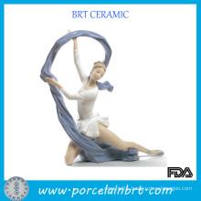 Attractive Dancing Girl Porcelain Figurine