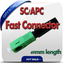 Nouvelle conception Fase Assembly Sc / Upc Connector Made in China
