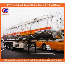 Heavy Duty 3 Eixos Combustível Crude Palm Oil Tanker Semi-reboques 30, 000 litros à venda