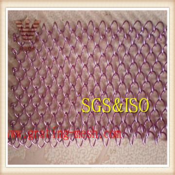 Malla de malla decorativa / malla de enlace de cadena para la venta