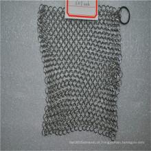 316 6 * 8 purificador de cota de malha de prato de aço inoxidável