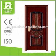Phipulo precio competitivo melamina puerta de madera antiguo diseño de la puerta principal