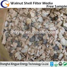 Minério de bauxita de bauxita calcinada Al2O3 de alta intensidade e 60%