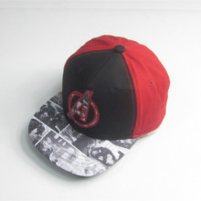 Youth Print Patch Hip Hop Cap