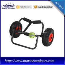 Carrinho de reboque, reboque de barco com roda pneumática, carrinho de alumínio