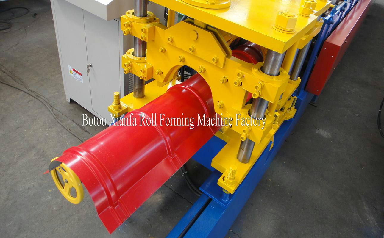roof tile ridge roll forming machine