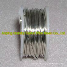 Alambre caliente de la aleación de plata de la venta de la alta calidad (la composición de plata 99.0% - 99.9%) para la batería / el electro ----- 30 años fabrican el surtidor