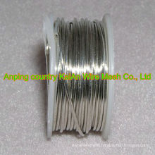 High quality Hot sale Silver Alloy Wire (silver composition 99.0%--99.9%) For Battery/Electro-----30 years manufacture supplier