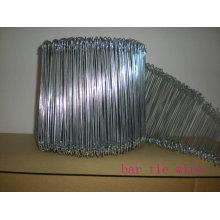 Alambre de lazo de la barra, alambre de acero de refuerzo corbatas personalizadas