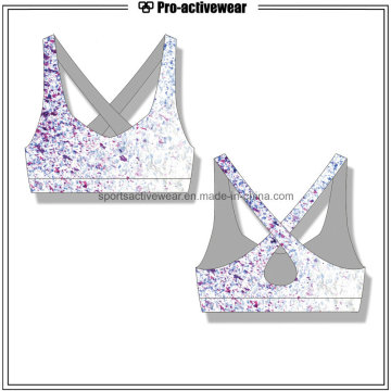 OEM Mujeres Venta al por mayor Custom Yoga Fitness Sports Bra