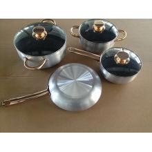 Hot Sale alumínio não-Stick Metallic utensílios de cozinha