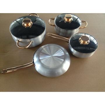 Hot Sale Aluminium Non-Stick Metallic Kitchenware
