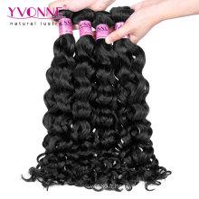 Gros italien bouclés malaisienne vierge remy cheveux