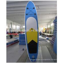 Planche de surf gonflable de planche à roulettes de yoga de planche à roulettes d'équipe de jeu