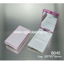 Caixa compacta de luxo em pó caixa de cor brilhante cosméticos 2014 novas embalagens cosméticas caixas de embalagens cosméticos
