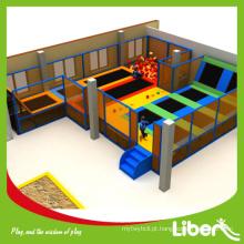 New customize projetado crianças playground indoor para venda com soft jump Supplier Choice