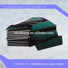 manufacturing filter media carbon filter for car
