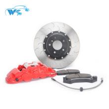 6 pistões pinça de freio De Alumínio Forjado Leve WT8520 grande kit de freio apto para peugeot 307
