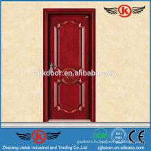 JK-SD9008 сплошной вишневый деревянный кухонный шкаф двери / интерьер распашная дверь кухня