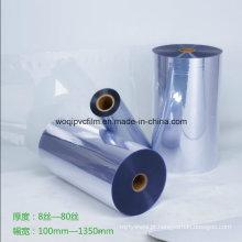 Película rígida de PVC farmacêutico para embalagem de medicamentos