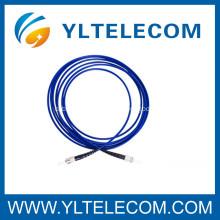 0.9mm SM Fiber Optic Patch Cord , Fiber Optic Jumper with LC connector