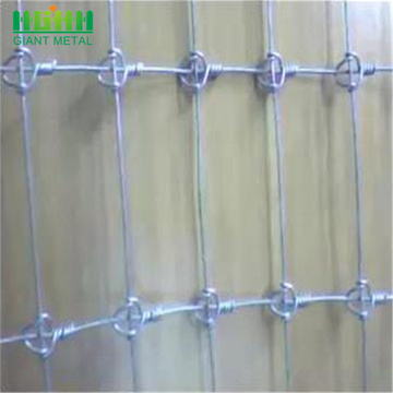Galvanized steel Commercial field fence